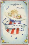 Vintage Uncle Sam baby image