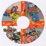 Vintage Circus CD label